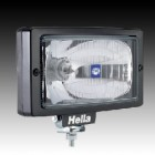 Hella Jumbo 220 spotlight clear lense black trim