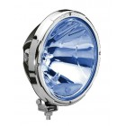 Hella Rallye 3003 Blue Spotlight - chrome retaining ring 111
