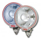 "Britax 7"" blue glass spotlight with 24v bulbs"