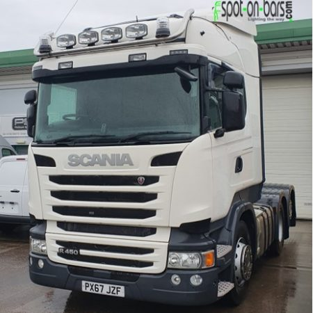 Scania Highline roof bar