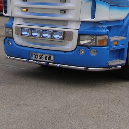 Scania MK1 R Series Underbumper Bar - shallow bumper