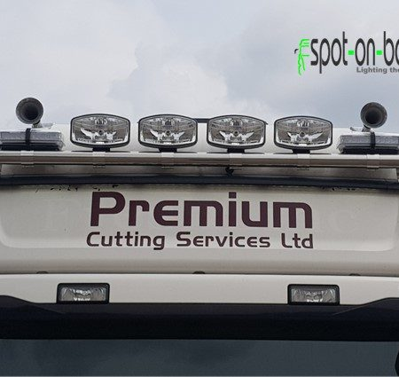 Scania Topline roof bar