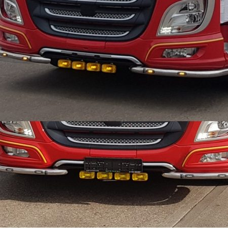 DAF XF Euro 6 under bumper bar