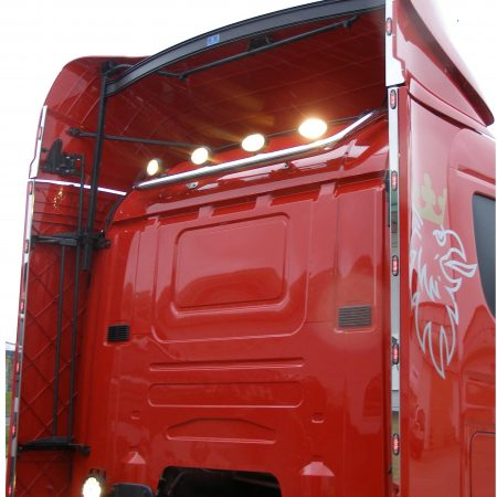 Scania R cab Sleeper wind kit lights