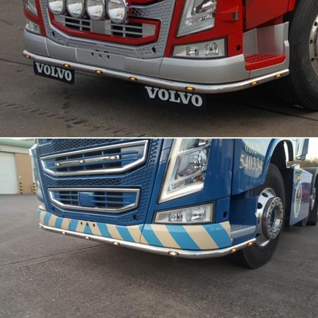 Volvo FH / FM V4 under bumper bar c/w led's