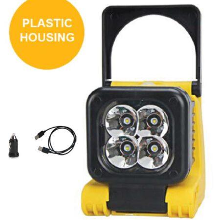 421000211battery worklight 1000 lumen plastic housed pic 1
