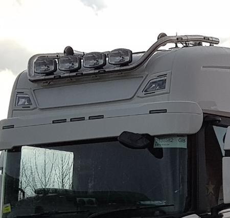 Next Generation Scania fibreglass sunvisor 30 cm 5 marker
