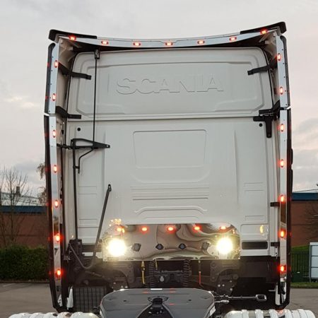 Scania S series wind kit strips