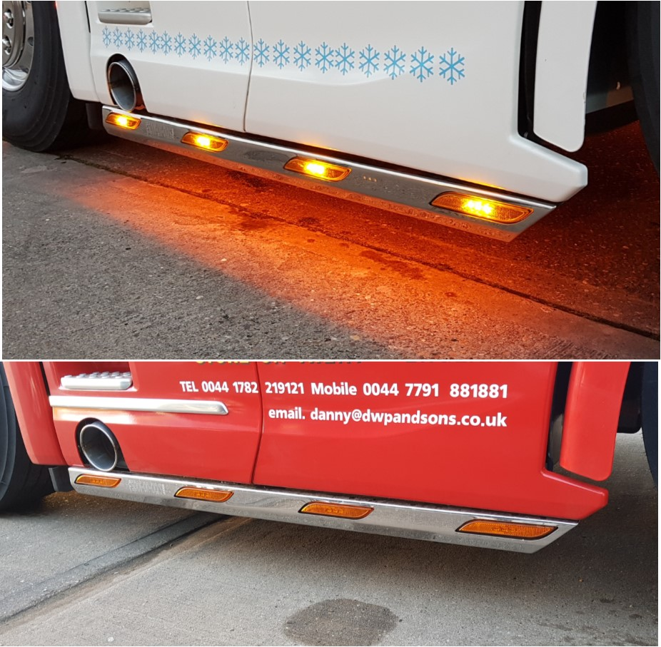 Scania Next Generation S & R side bars type 2 - Spot On