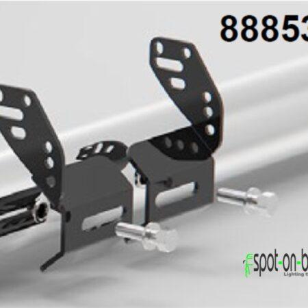 LED light bar bracket kit