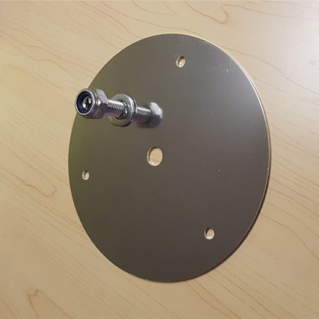 Beacon mounting plate - type 1 - Bolt