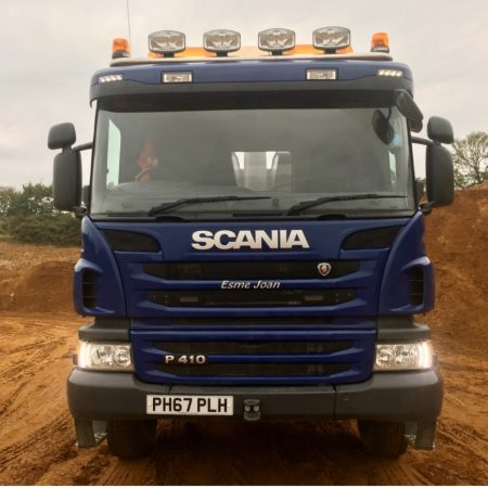Scania Day cab roof bar