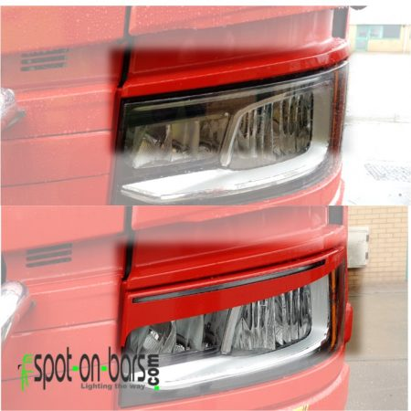 Eyebrows for Scania Next Gen LED headlight