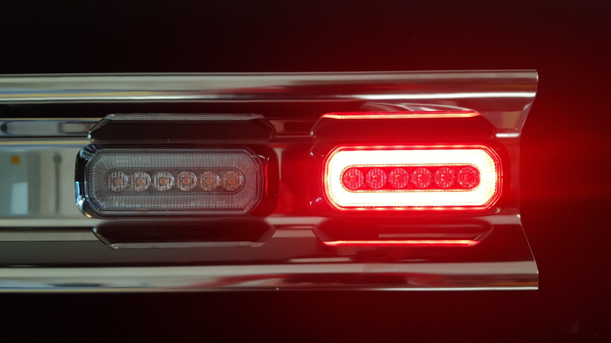 Peterson SL10451 LED warning light PAIR