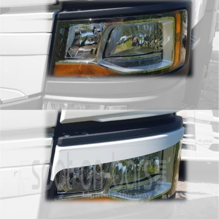 Eyebrows for Scania New Gen H7 headlight