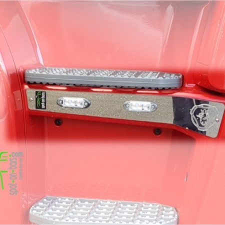 step panel trims for Scania New Gen - WITH LEDS