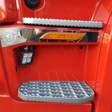 step panel trims for Scania New Gen - PLAIN