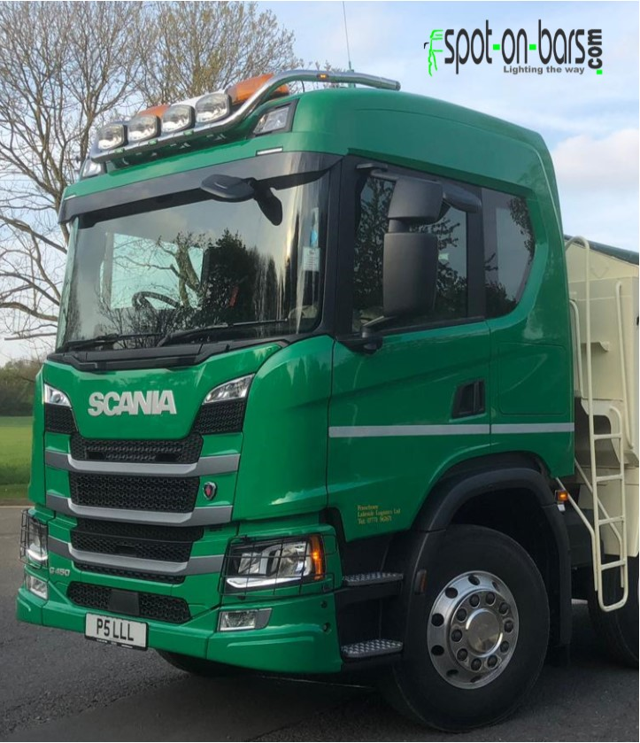 Scania Next Generation Normal Cab 4 spot roof bar - Spot On