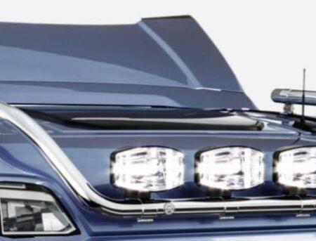 Scania Next Generation Normal Cab 4 spot roof bar