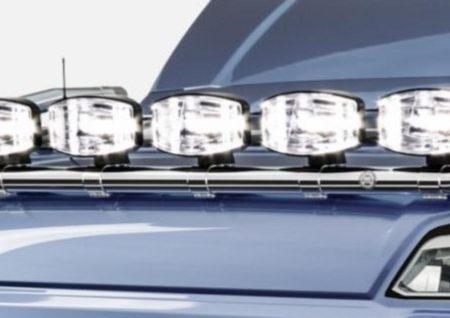 Scania Next Generation Normal Cab roof bar 6 spot