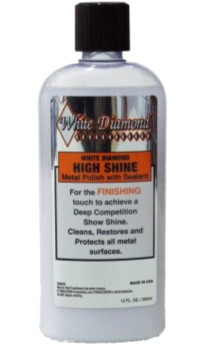 White Diamond HIGH SHINE Metal Polish
