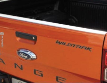Ford Ranger tail gate protector - Stainless steel