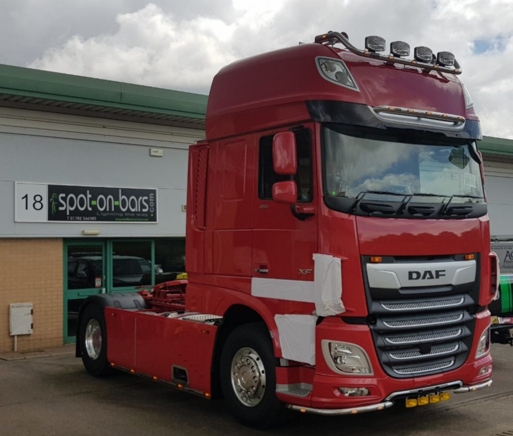 DAF - Spot On Truck Bars