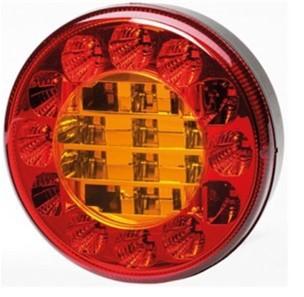 Hella ValueFit 122mm round rear combination light
