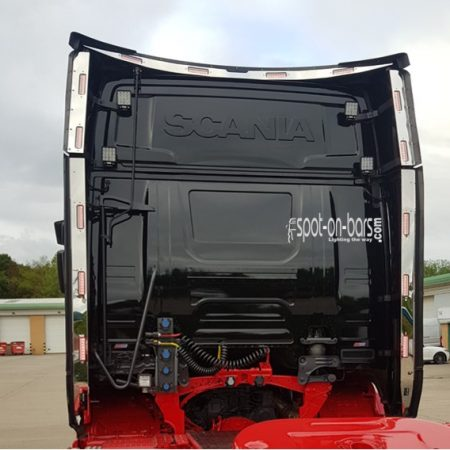 Scania Next Gen R series wind kit strips with 3 in 1 lights