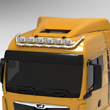 MAN TGX 2020 on GM Roof Wide top bar