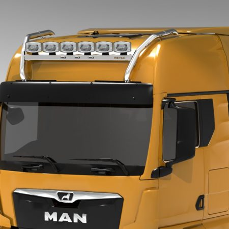 MAN TGX 2020 on GX cab Crossbar roof bar