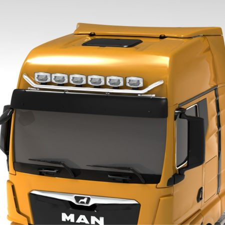 MAN TGX 2020 on V max roof bar GX cab