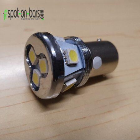 White led bulb - BA15s - P21W