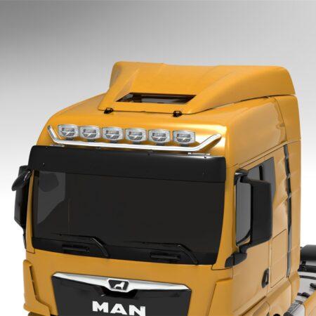 MAN TGX 2020 on V max roof bar GM cab