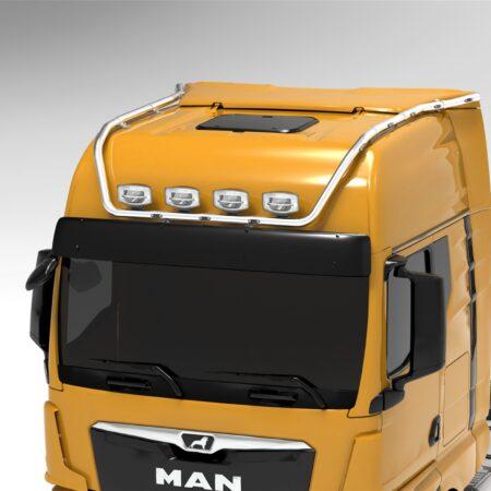 MAN TGX 2020 on HYDRAMAX roof bar GX cab