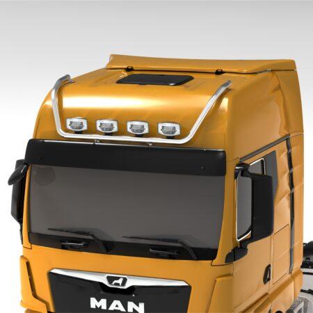 MAN TGX 2020 on MAX roof bar GX cab