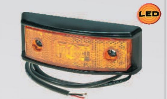 Aspock Pro MULTI SML LED side marker light, indicator and reflector 12 & 24v
