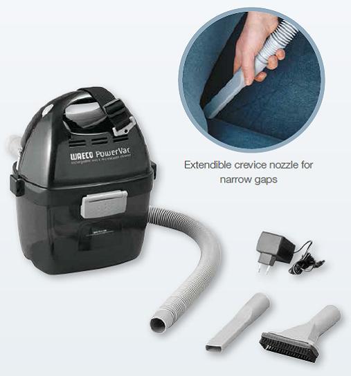 Waeco PowerVac PV100 Wet/Dry Cordless Vacuum Cleaner