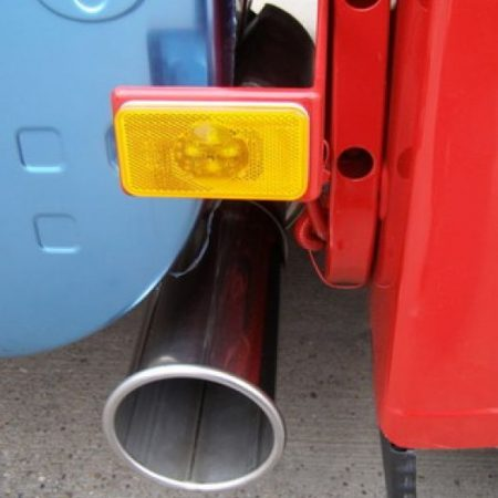 Volvo exhaust tail pipe upgrade