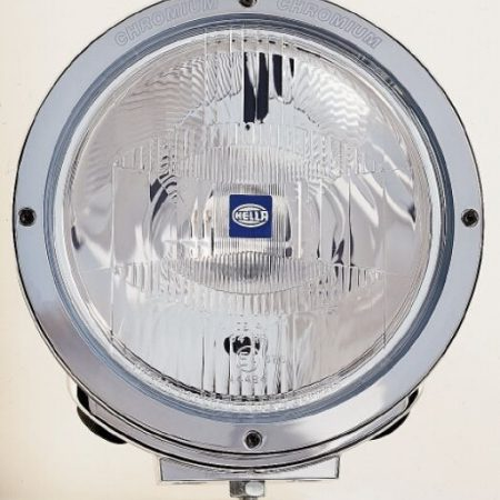 Hella Luminator Chrome clear glass spotlight
