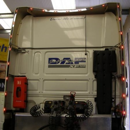 DAF XF 105 Super space cab Wind kit strips