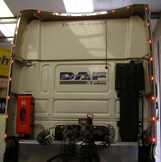 DAF XF 105 Wind kit strips