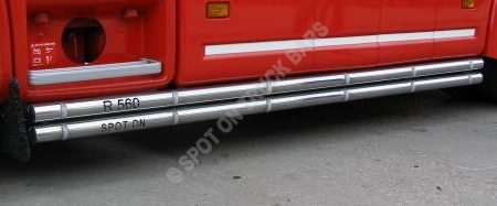 "Twin 2.5"" Tube Side Bars"