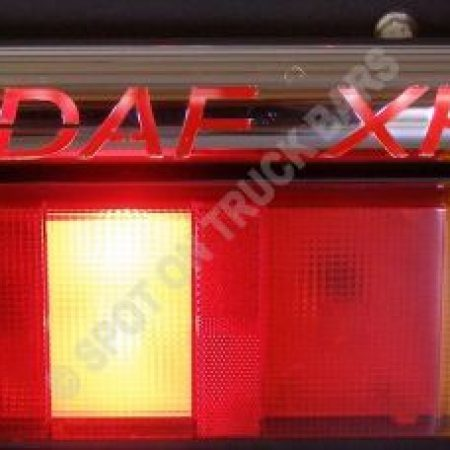 DAF XF tail light bar