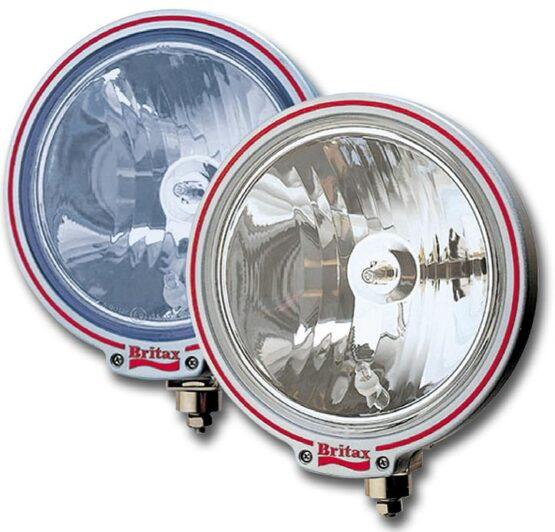 "Britax 9"" spotlight clear glass 24v bulbs"